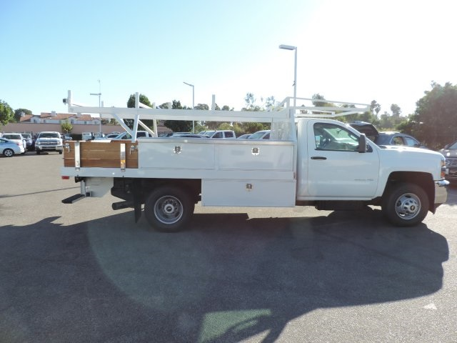 2015 Silverado 3500 Regular Cab, Harbor Contractor Body #M15981 - photo 9