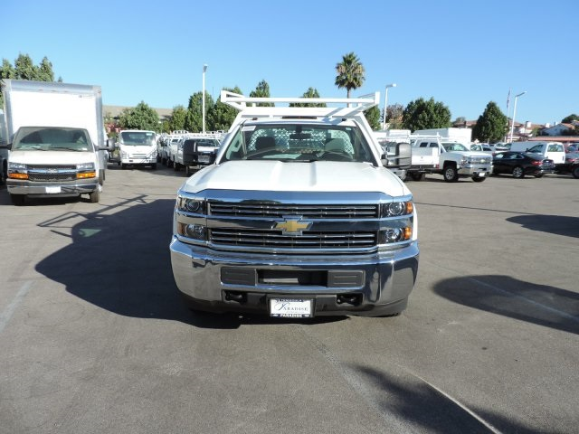 2015 Silverado 3500 Regular Cab, Harbor Contractor Body #M15981 - photo 4