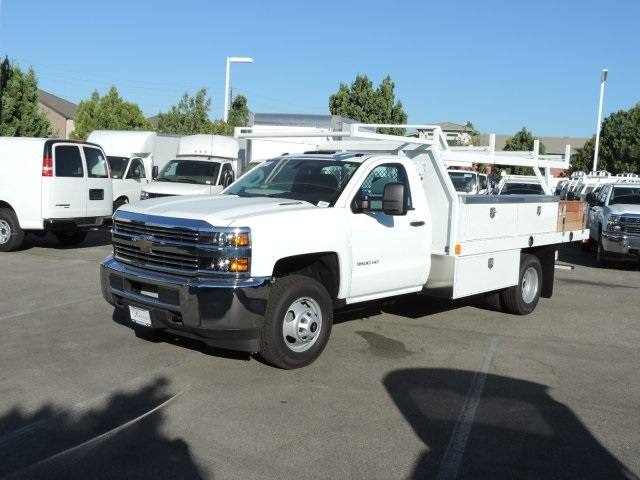 2015 Silverado 3500 Regular Cab, Harbor Contractor Body #M15981 - photo 5