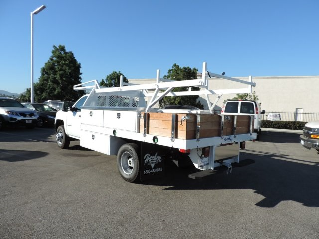 2015 Silverado 3500 Regular Cab, Harbor Contractor Body #M15981 - photo 7