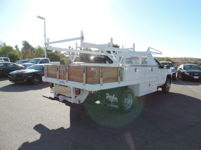 2015 Silverado 3500 Regular Cab, Harbor Contractor Body #M15981 - photo 2