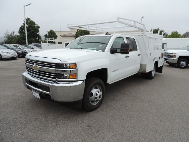 2016 Silverado 3500 Crew Cab, Harbor Combo Body #M161019 - photo 5