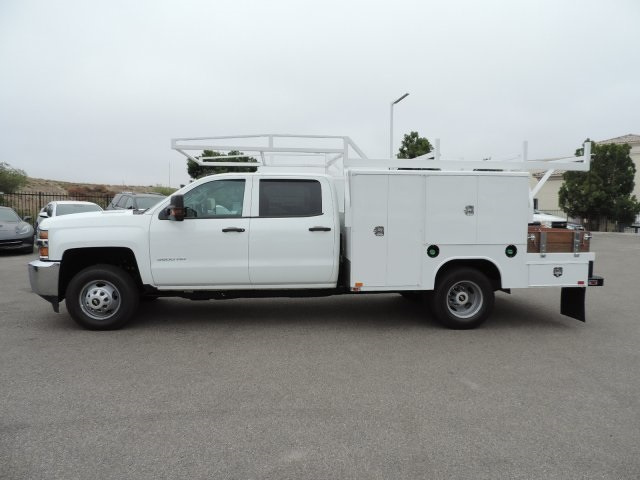 2016 Silverado 3500 Crew Cab, Harbor Combo Body #M161019 - photo 6