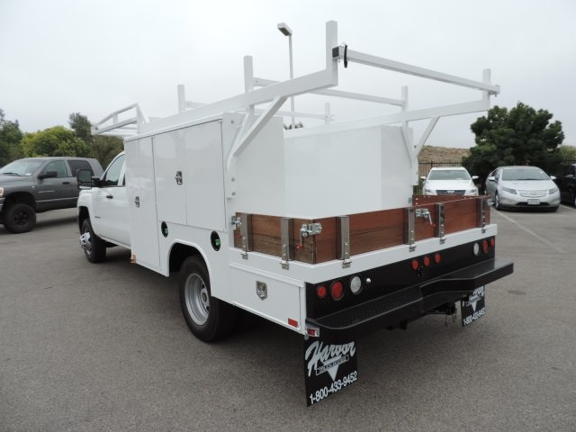 2016 Silverado 3500 Crew Cab, Harbor Combo Body #M161019 - photo 7