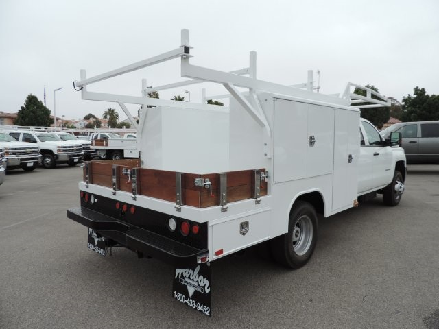 2016 Silverado 3500 Crew Cab, Harbor Combo Body #M161019 - photo 2