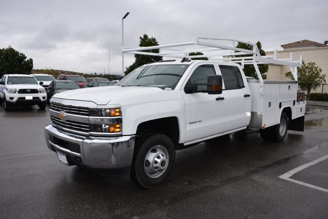 2016 Silverado 3500 Crew Cab, Harbor Combo Body #M161025 - photo 5