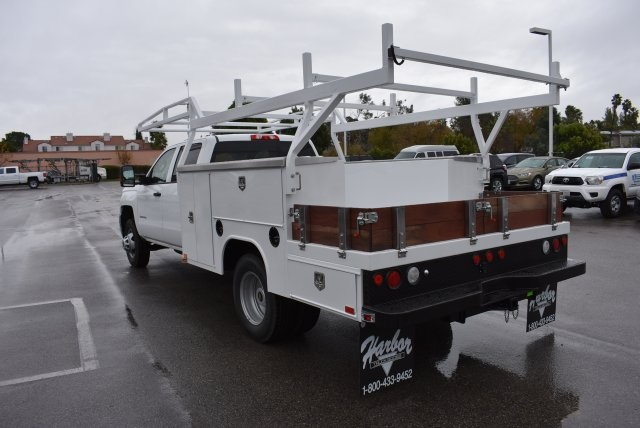 2016 Silverado 3500 Crew Cab, Harbor Combo Body #M161025 - photo 7
