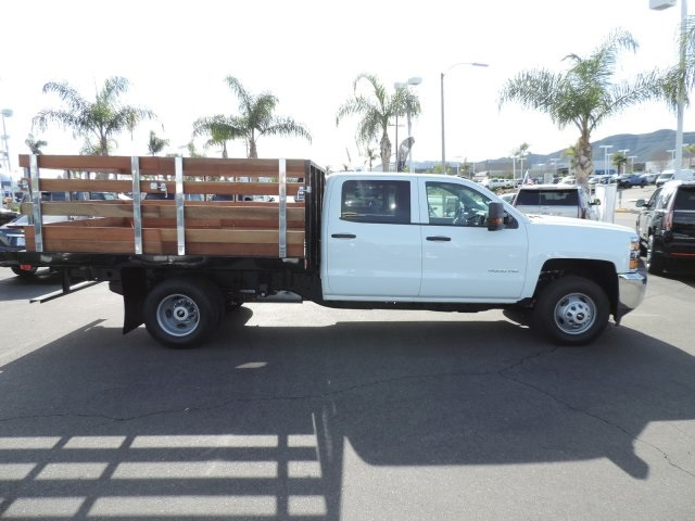 2016 Silverado 3500 Crew Cab, Harbor Flat/Stake Bed #M161028 - photo 9