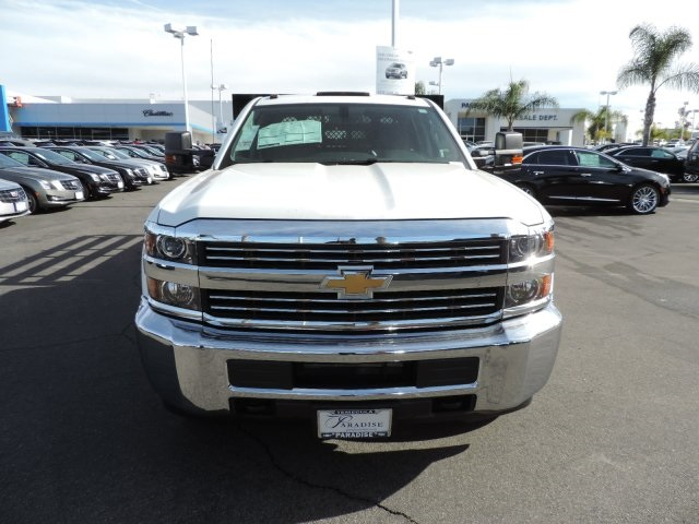 2016 Silverado 3500 Crew Cab, Harbor Flat/Stake Bed #M161028 - photo 4