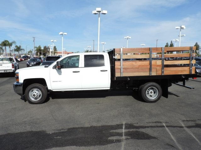 2016 Silverado 3500 Crew Cab, Harbor Flat/Stake Bed #M161028 - photo 6