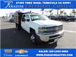 2016 Silverado 3500 Crew Cab, Harbor Flat/Stake Bed #M161028 - photo 1