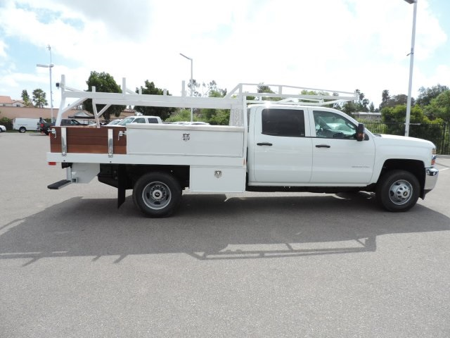 2016 Silverado 3500 Crew Cab, Harbor Contractor Body #M161029 - photo 9