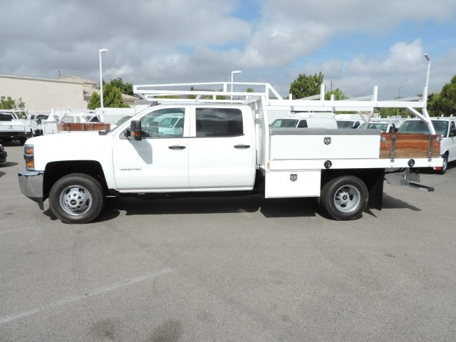 2016 Silverado 3500 Crew Cab, Harbor Contractor Body #M161029 - photo 6