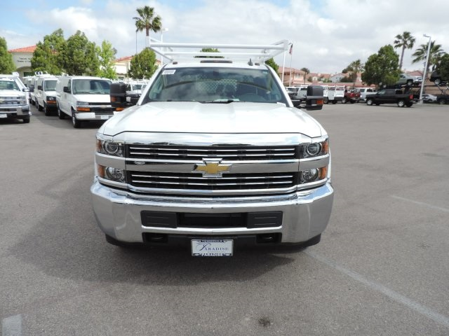 2016 Silverado 3500 Crew Cab, Harbor Contractor Body #M161031 - photo 4
