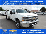 2016 Silverado 3500 Crew Cab, Harbor Contractor Body #M161031 - photo 1