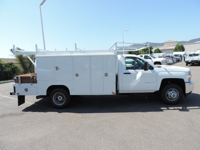 2016 Silverado 3500 Regular Cab, Harbor Combo Body #M161058 - photo 9