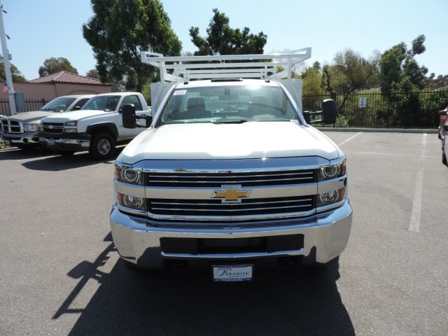 2016 Silverado 3500 Regular Cab, Harbor Combo Body #M161058 - photo 4