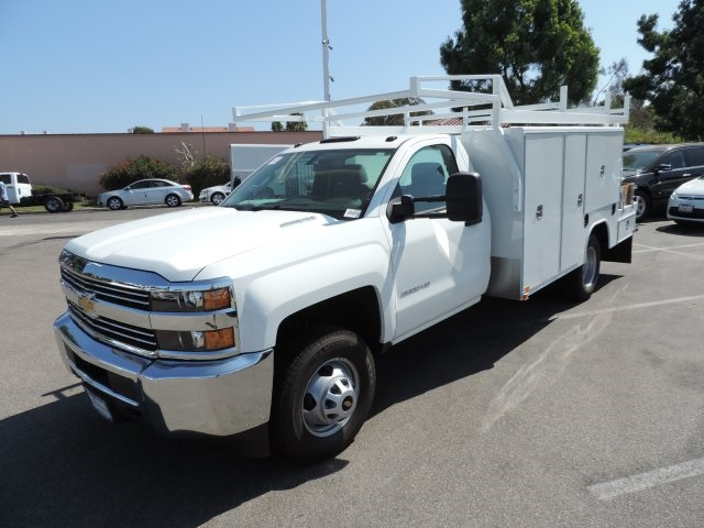 2016 Silverado 3500 Regular Cab, Harbor Combo Body #M161058 - photo 5