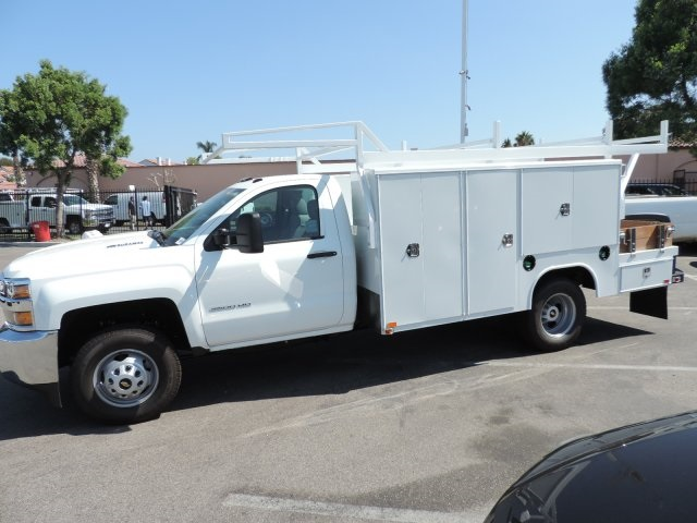 2016 Silverado 3500 Regular Cab, Harbor Combo Body #M161058 - photo 6