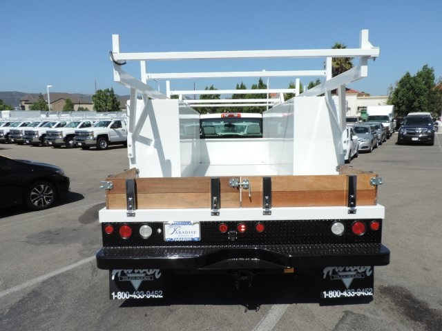 2016 Silverado 3500 Regular Cab, Harbor Combo Body #M161058 - photo 8
