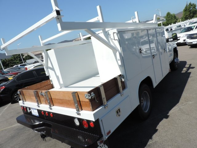 2016 Silverado 3500 Regular Cab, Harbor Combo Body #M161058 - photo 2