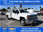 2016 Silverado 3500 Crew Cab 4x4, Harbor Contractor Body #M162000 - photo 1