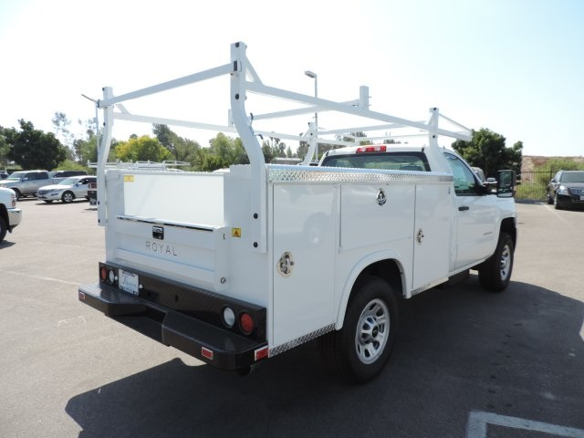 2016 Silverado 3500 Regular Cab, Royal Utility #M16343 - photo 2