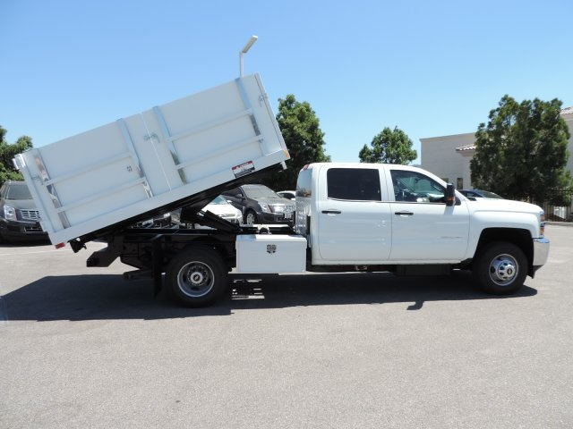 2016 Silverado 3500 Crew Cab, Harbor Landscape Dump #M16348 - photo 11