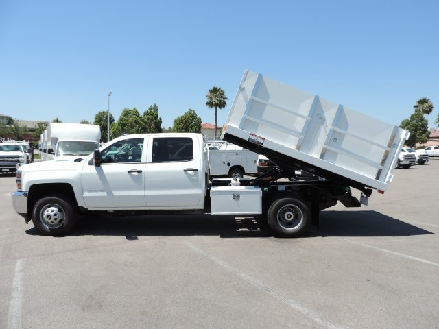 2016 Silverado 3500 Crew Cab, Harbor Landscape Dump #M16348 - photo 12