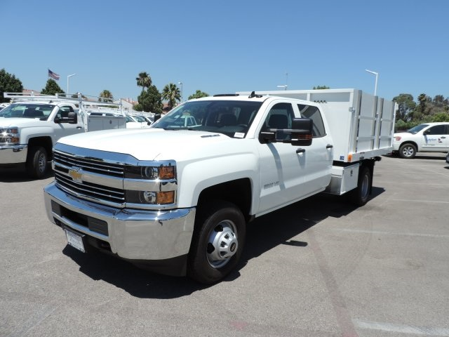 2016 Silverado 3500 Crew Cab, Harbor Landscape Dump #M16348 - photo 5