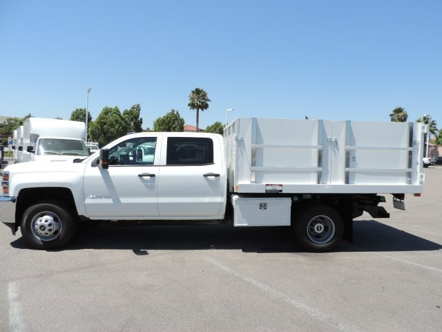 2016 Silverado 3500 Crew Cab, Harbor Landscape Dump #M16348 - photo 6