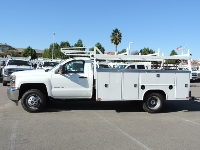 2016 Silverado 3500 Regular Cab, Utility #M164005 - photo 6