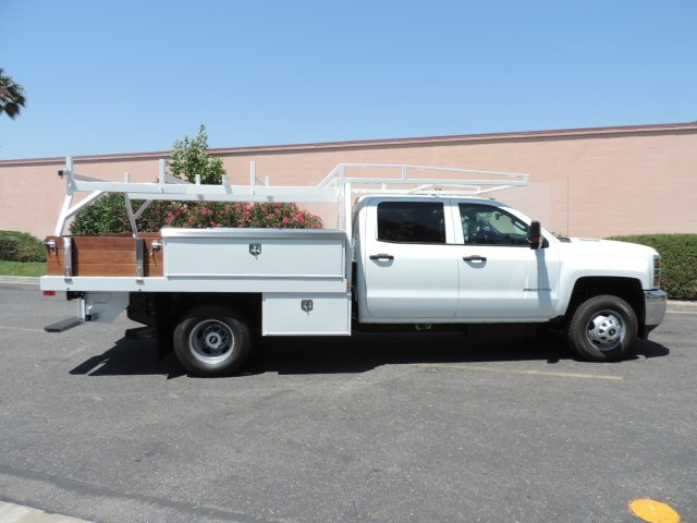 2016 Silverado 3500 Crew Cab, Contractor Body #M16500 - photo 9