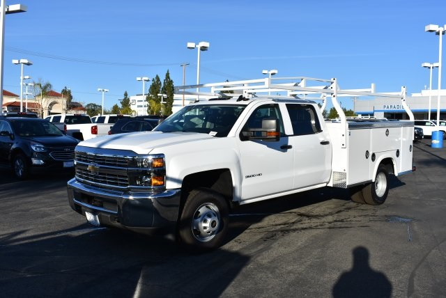 2016 Silverado 3500 Crew Cab, Royal Utility #M16557 - photo 5
