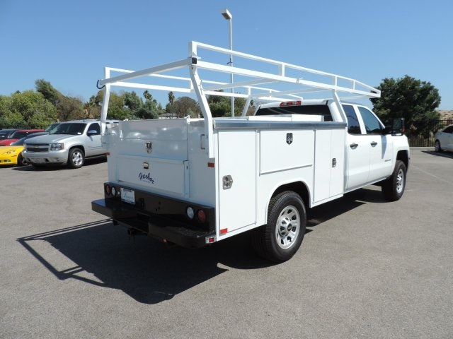 2016 Silverado 3500 Double Cab, Harbor Utility #M16648 - photo 2