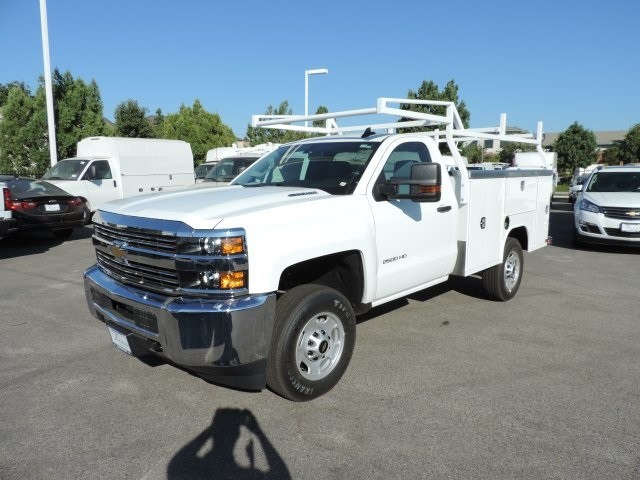 2016 Silverado 2500 Regular Cab, Harbor Utility #M16758 - photo 5