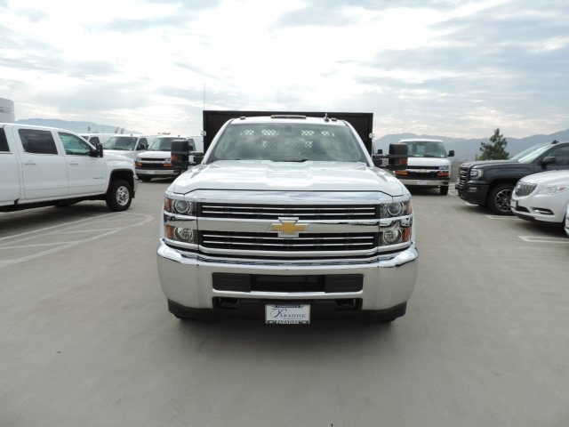 2016 Silverado 3500 Regular Cab, Harbor Flat/Stake Bed #M16840 - photo 4