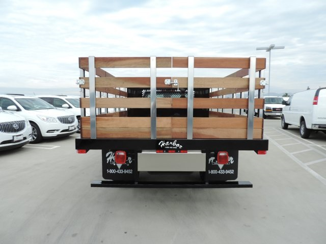 2016 Silverado 3500 Regular Cab, Harbor Flat/Stake Bed #M16840 - photo 8