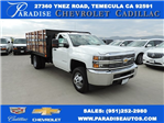 2016 Silverado 3500 Regular Cab, Harbor Flat/Stake Bed #M16840 - photo 1