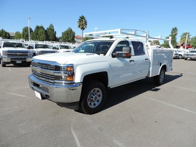 2016 Silverado 3500 Crew Cab, Royal Utility #M16941 - photo 4