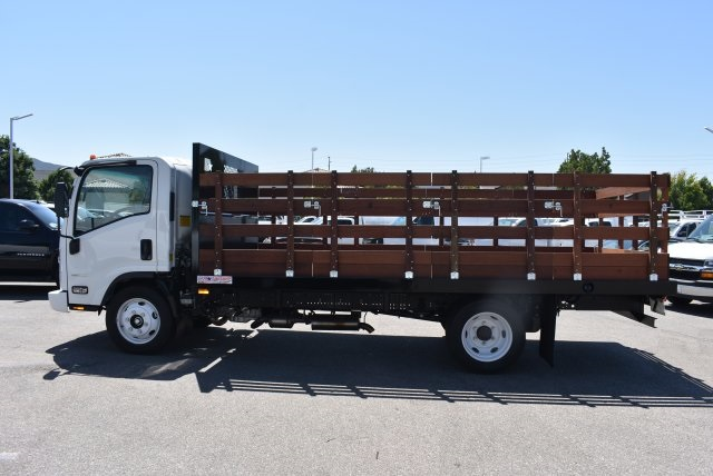 2016 LCF 4500 Regular Cab, American Truck Bodies Flat/Stake Bed #M16975 - photo 7