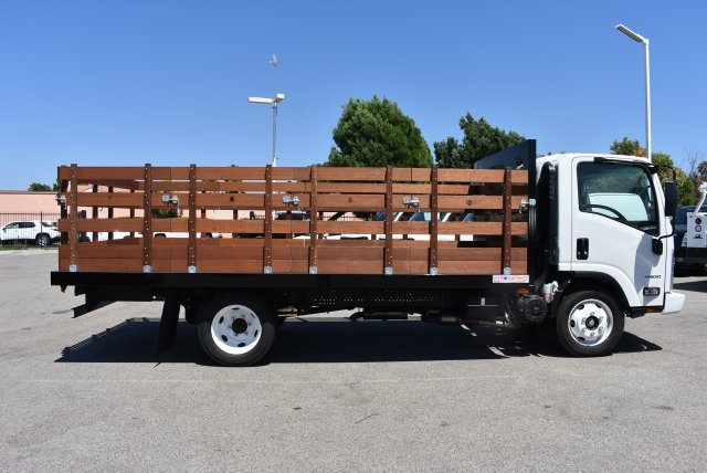 2016 LCF 4500 Regular Cab, American Truck Bodies Flat/Stake Bed #M16975 - photo 4