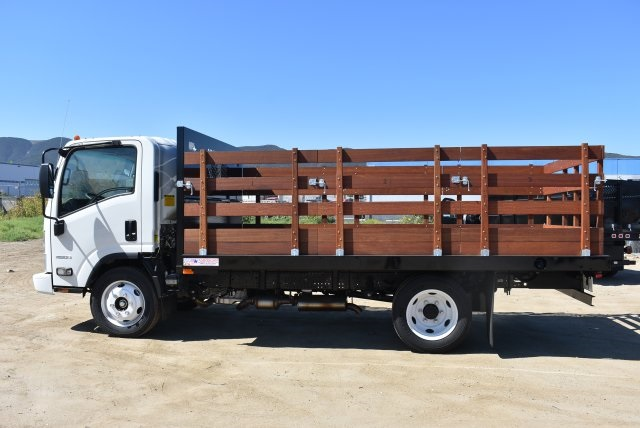 2016 LCF 4500 Regular Cab, American Truck Bodies Flat/Stake Bed #M16994 - photo 5