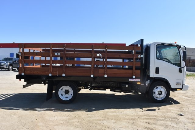 2016 LCF 4500 Regular Cab, American Truck Bodies Flat/Stake Bed #M16994 - photo 8
