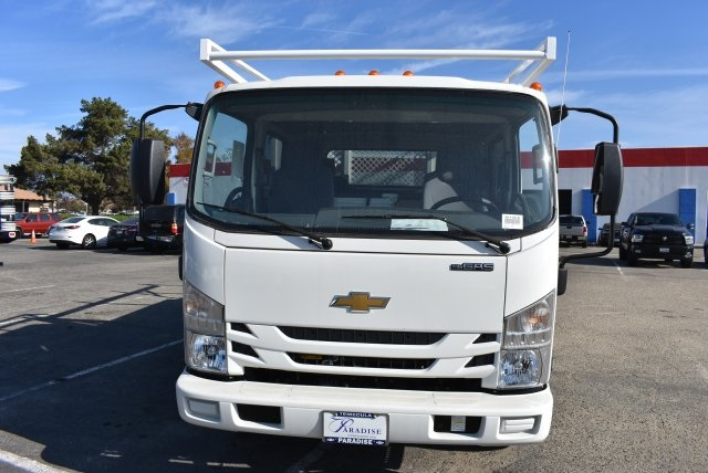2017 Low Cab Forward Crew Cab 4x2,  Harbor Standard Contractor Contractor Body #M171018 - photo 4