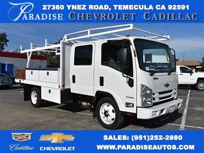 2017 Low Cab Forward Crew Cab 4x2,  Harbor Standard Contractor Contractor Body #M171018 - photo 1