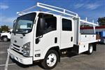 2017 Low Cab Forward Crew Cab 4x2,  Harbor Standard Contractor Contractor Body #M171018 - photo 5
