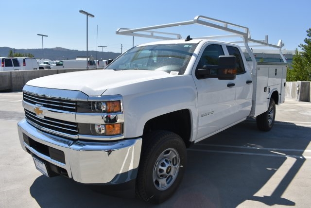 2017 Silverado 2500 Double Cab 4x4, Knapheide Utility #M171043 - photo 4