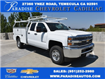 2017 Silverado 2500 Double Cab 4x4, Knapheide Utility #M171043 - photo 1