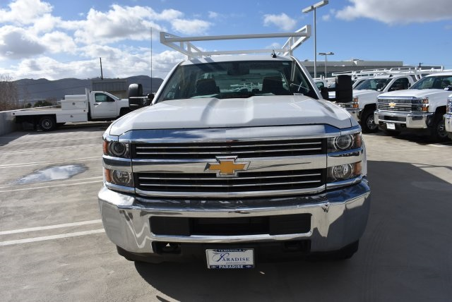 2017 Silverado 3500 Double Cab, Harbor Utility #M171067 - photo 4